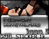 +KM+ Supporter 1k