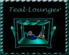 teal  lounger