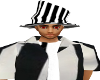 men jail bird hat