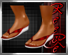 {BE}Reece's red sandals