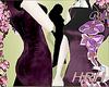 HRH PurpleFlowers Kimono