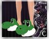 [C] Yoshi Slippers