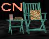 1920s Lawn Chair