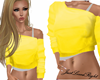 Off Shoulder 3/4 Yellow