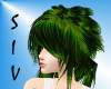 Wicked Green Bangs