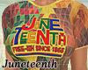 Juneteenth Top  Regular