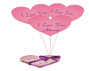 Valentine Candy Balloons
