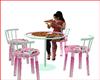 Mesa con Pizaa