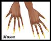 [GA] Yellow nails & Ring