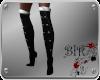 [BIR]Black&Silver Boots