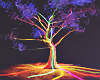 Fairy Tree Neon Room