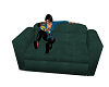Baby Holding Couch