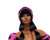 cupcake pink hat
