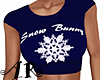 Snowflake Crop Top V6