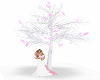white&pink tree