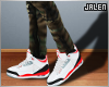 Air Jordan 3. Fire Red ""
