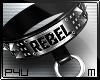 -P- Studs Rebel Collar M