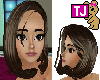 tjhb (F) hair dkbrn
