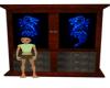Blue Dragon Armoire