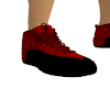 Red Black M Trainners