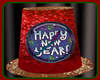 !   HAPPY NEW YEAR HAT
