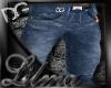 [L] D&G Blue Jeans