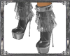 Wicked Fringe SilverBoot