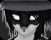 {s}Black Wolf Fur M