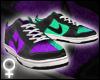 Purple/Aqua Dunks [F]