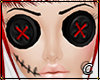 Voodoo Doll Button Eyes