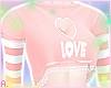 爱 ''Love'' Peach Top