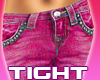 Skinny Tight Pink Jeans