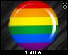 ☾ Gay Pride Plugs