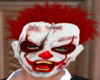 Blood stained clown mask