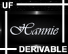 UF Derivable Hannie Sign