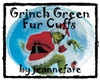 Grinch Green Fur Cuffs