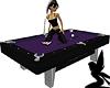 Purple Dragon Pool Table