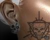 ♆. Skulls on ya ears