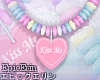 [E]*Candy Heart Necklace