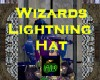 Wizards Lightning Hat