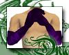d Poison Satin Gloves