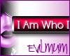 [EM]I Am Who I Am RED