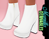! White Chelsea Boots