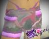 pink cama shorts w/thong