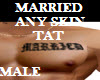 MARRIED  CHEST TAT male