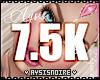 7.5K Support Sticker