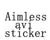 AimlessWanderer sticker