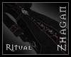 [Z] Ritual Robe blk/red