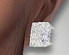 Earring. Diamond