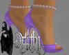 romance purple heels
